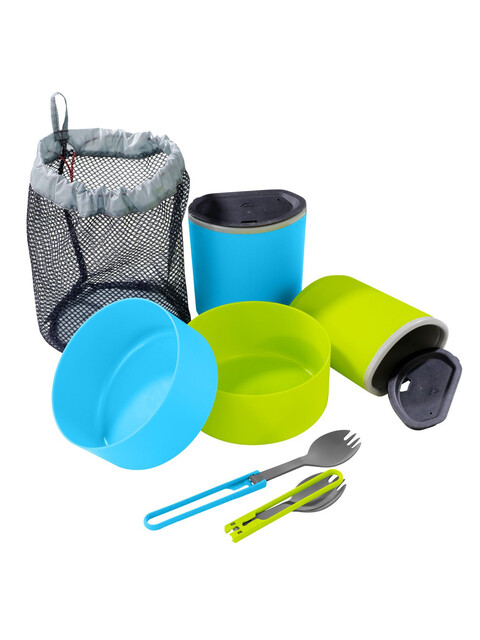 MSR 2 Person Mess Kit - verde/azul